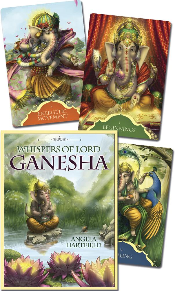 Whispers of Lord Ganesha Oracle Cards Deck (Angela Hartfield)