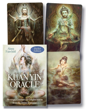 Kuan Yin Pocket Oracle Cards Deck (Alana Fairchild)
