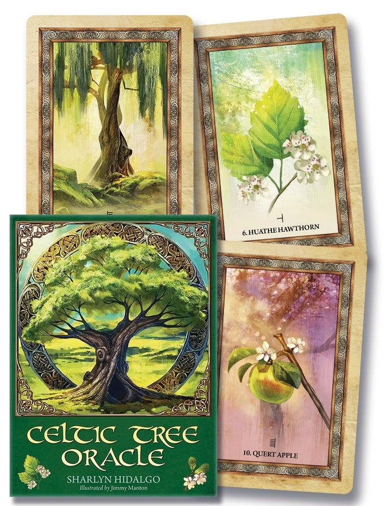 Celtic Tree Oracle Cards Deck (Sharlyn Hidalgo & Jimmy Manton)