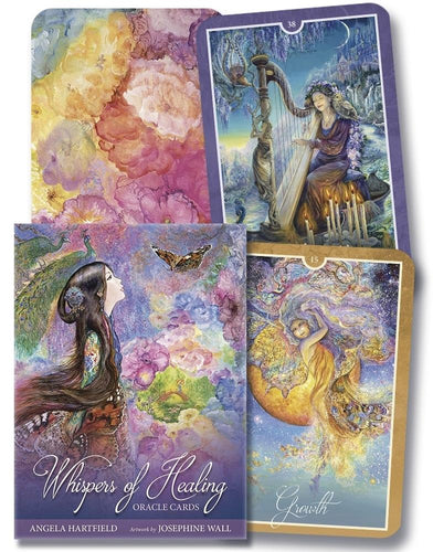 Whispers of Healing Oracle Cards Deck (Angela Hartfield)
