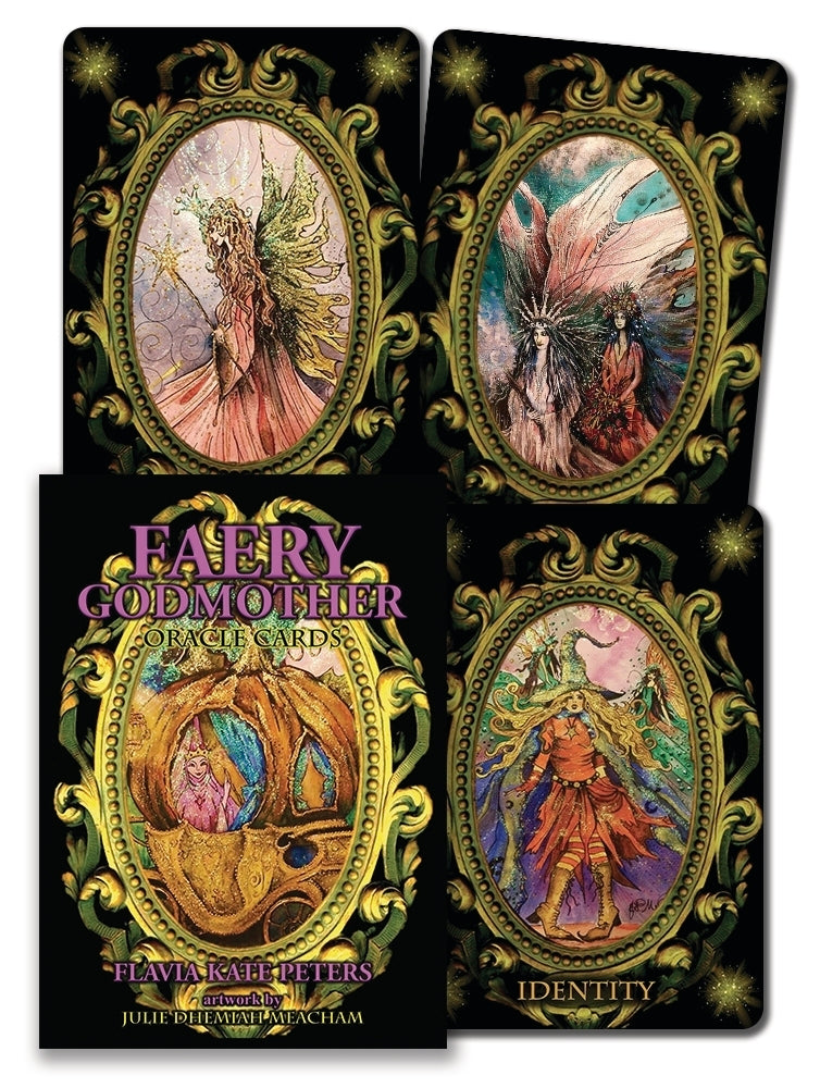 Faery Godmother Oracle Cards Deck (Peters & Dhemiah-Meacham)