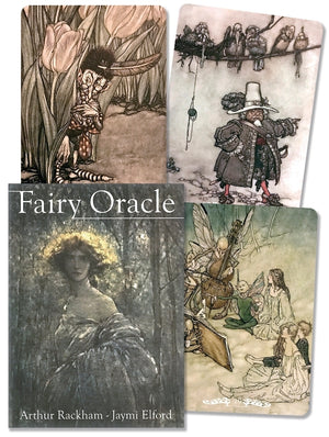 Fairy Oracle Cards Deck (Arthur Rackham)