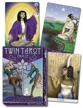 Load image into Gallery viewer, Twin Tarot Oracle Cards Deck (Bethell & Hammond)