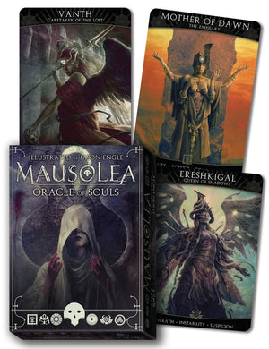 Mausolea: Oracle of Souls Cards Deck (Jason Engle)