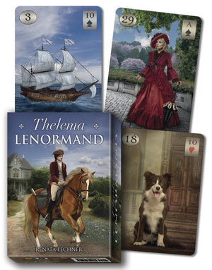 Thelema Lenormand Oracle Cards Deck (Renata Lechner)