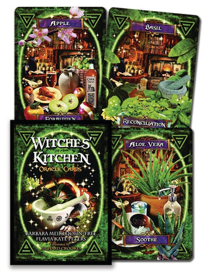 Witches' Kitchen Oracle Cards Deck (Barbara Meiklejohn-Free & Flavia Kate Peters)