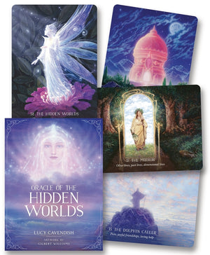 Oracle of the Hidden Worlds Cards Deck & Book (Lucy Cavendish & Gilbert Williams)