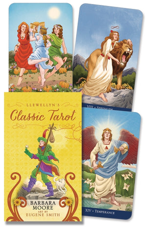 Classic Tarot Mini Deck (Eugene Smith & Barbara Moore)