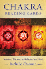 Load image into Gallery viewer, Chakra Reading Cards Deck & Book (Rachelle Charman)