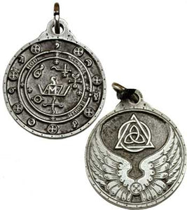 Charme et Sortilege Antique Pewter Talisman Pendants (10 Types)