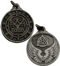 Load image into Gallery viewer, Charme et Sortilege Antique Pewter Talisman Pendants (10 Types)