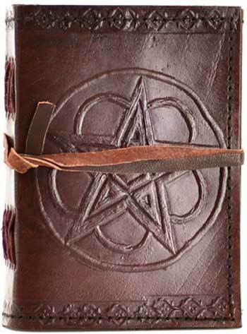 Pocket Hand Tooled Leather Journal (3 Types)