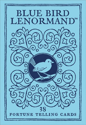 Blue Bird Lenormand Fortune Telling Cards Deck