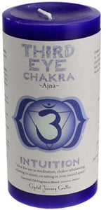 Chakra Pillar Candles (7 Types)