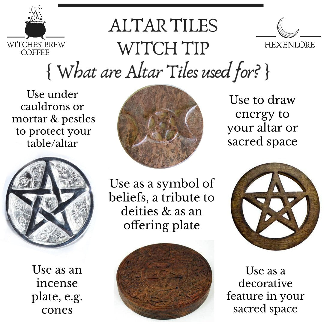 Cut Out Metal Altar Tiles (6 Types)