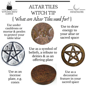 Solid Metal Altar Tiles (4 Types)