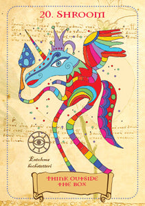 Enchanted Unicorn Oracle (Priestess Moon)