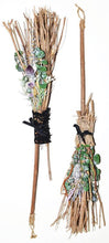 Load image into Gallery viewer, Handcrafted Witch's Broom / Besom 20""