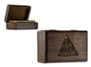 Triskele Wooden Box