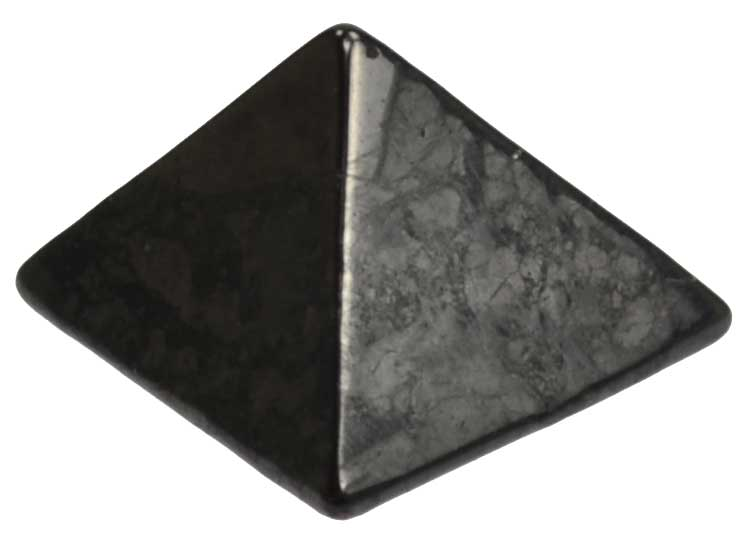 Shungite Pyramid Crystal (25-30mm)