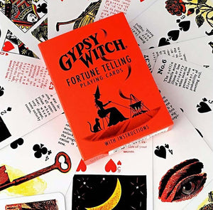 Gypsy Witch Fortune Telling Playing Cards Deck (Mlle Lenormand)