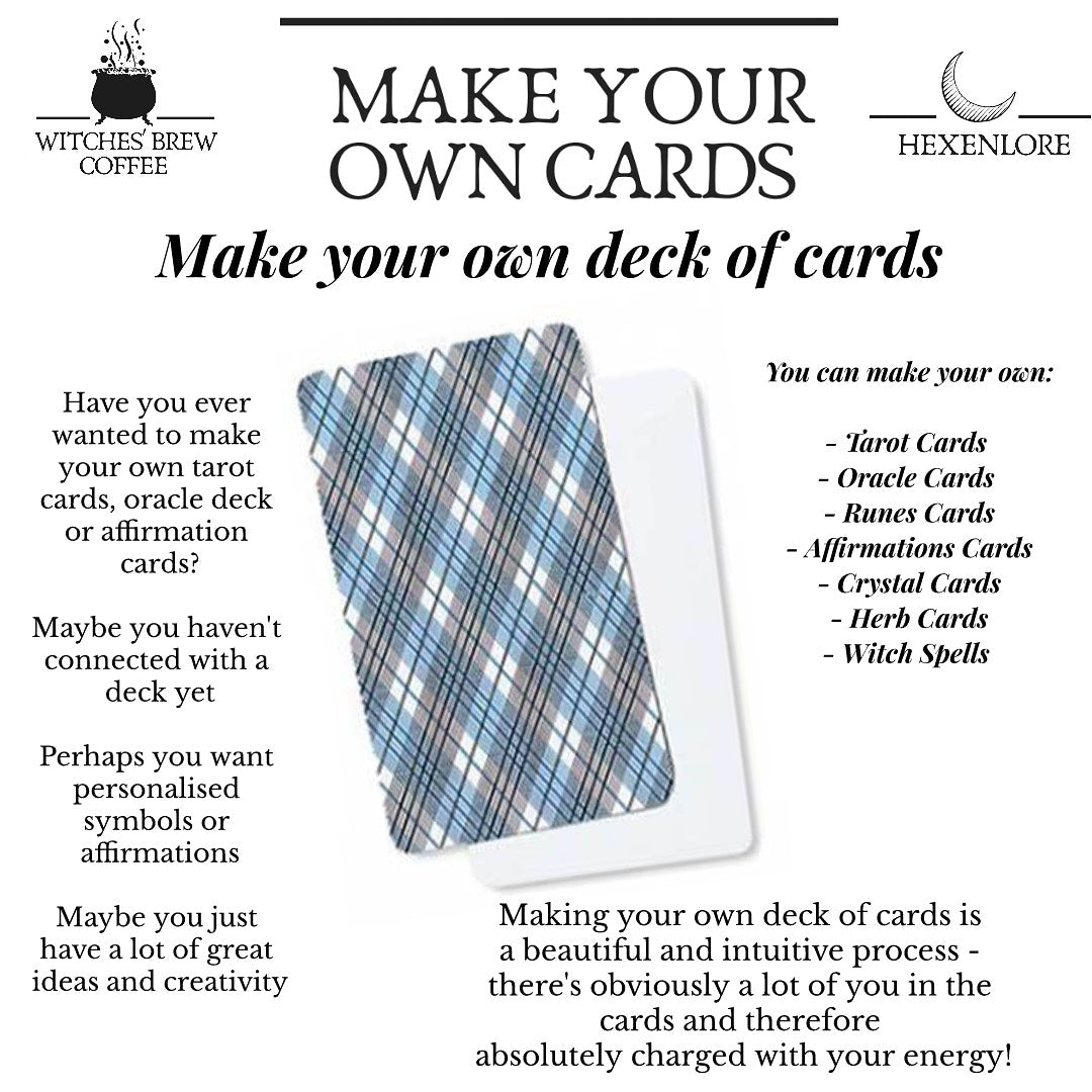 Make Your Own Cards (Blank Deck)