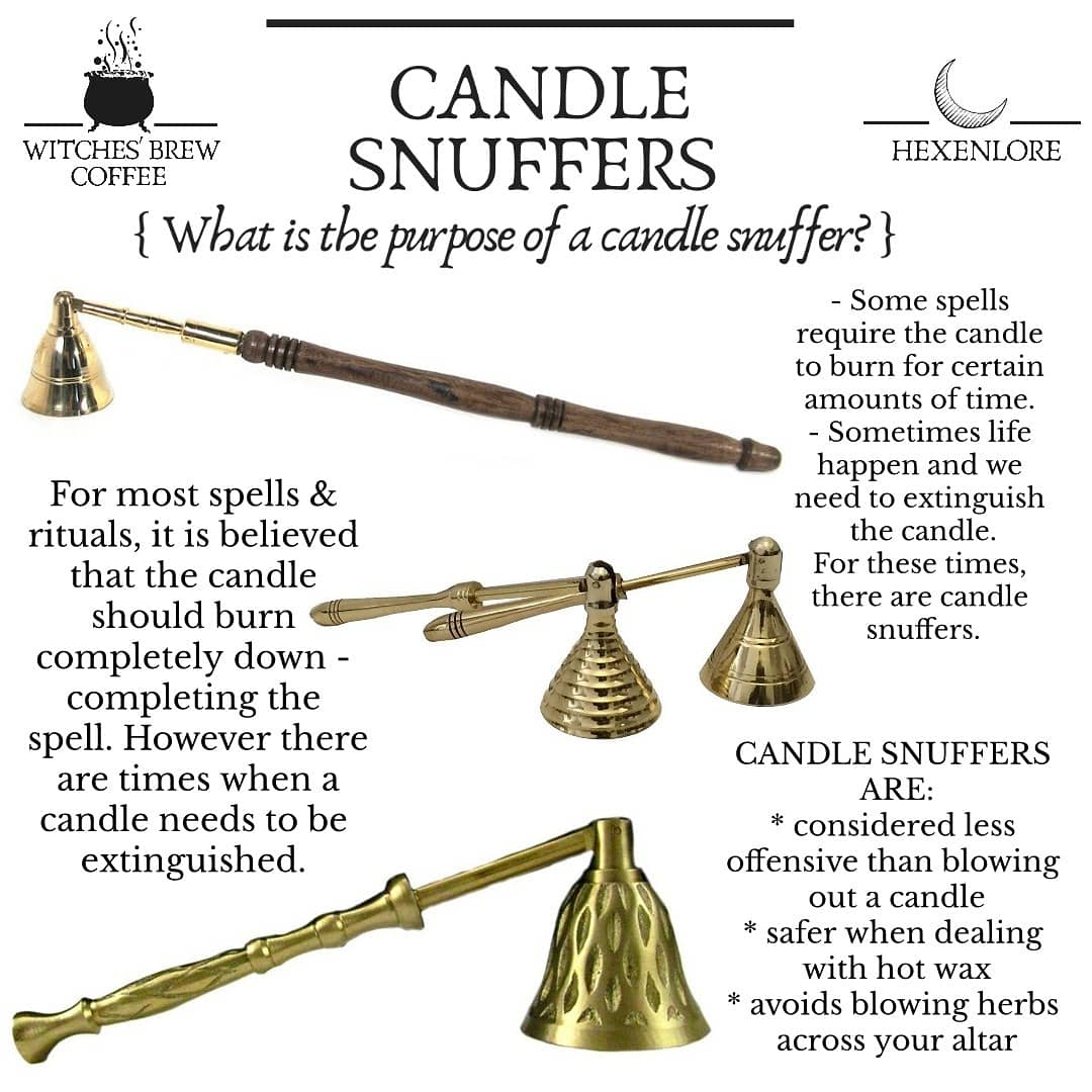 Candle Snuffers (9 Types)