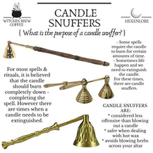 Load image into Gallery viewer, Small Brass Candle Snuffer