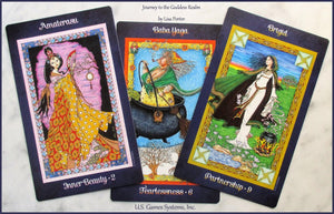 Journey to the Goddess Realm Oracle Cards Deck & Book (Lisa Porter)