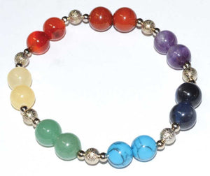 Chakra Gemstone Beaded Bracelets (9 Types)