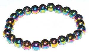 8mm Gemstone Round Bead Bracelets (39 Types)