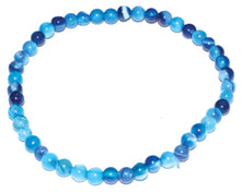 Load image into Gallery viewer, 4mm Gemstone Round Bead Bracelets (38 Types)