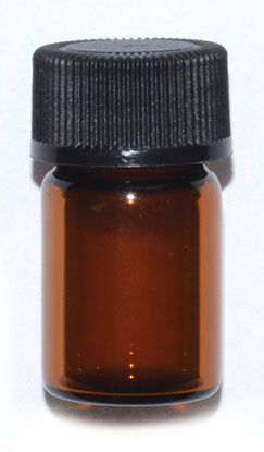 Apothecary Amber Dram Vial (3 Sizes)