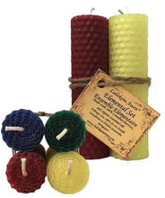 Load image into Gallery viewer, Handcrafted Beeswax Altar Candle Sets (4 Types)