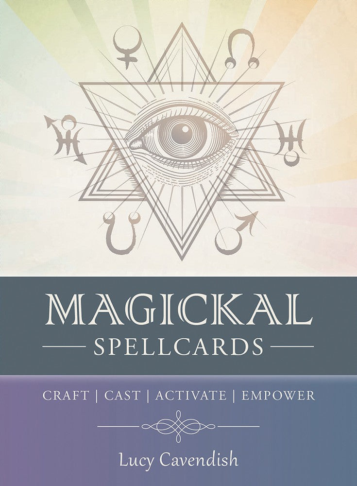 Magickal Spellcards Oracle Cards Deck (Lucy Cavendish)