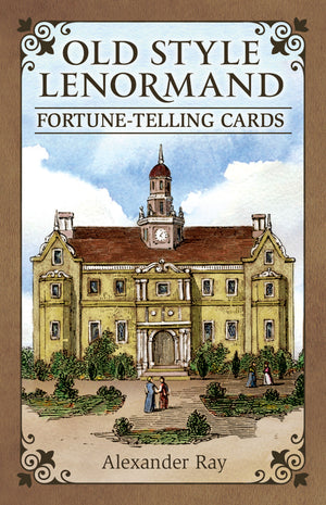 Old Style Lenormand Fortune Telling Cards (Alexander Ray)
