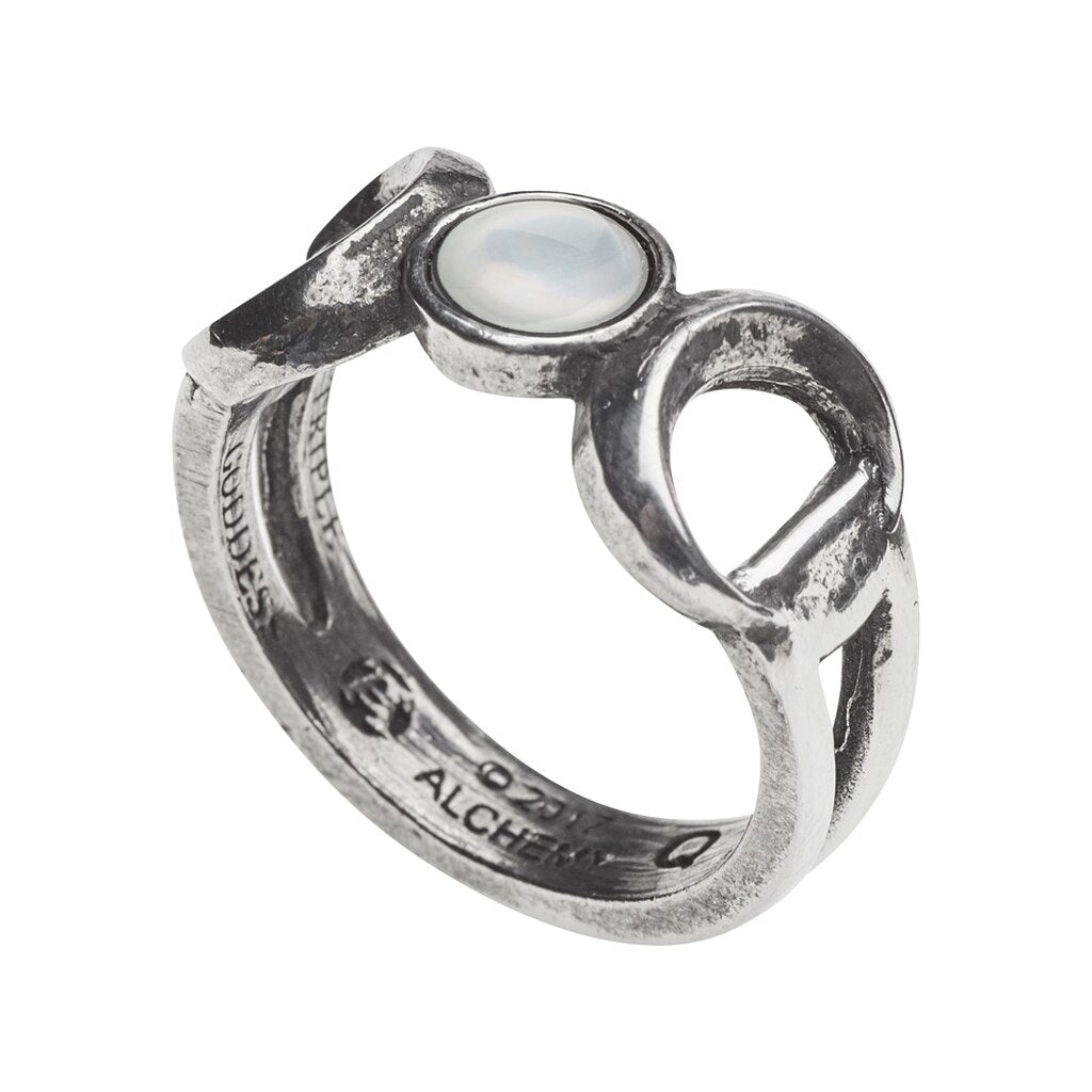 Maiden Mother Crone Ring
