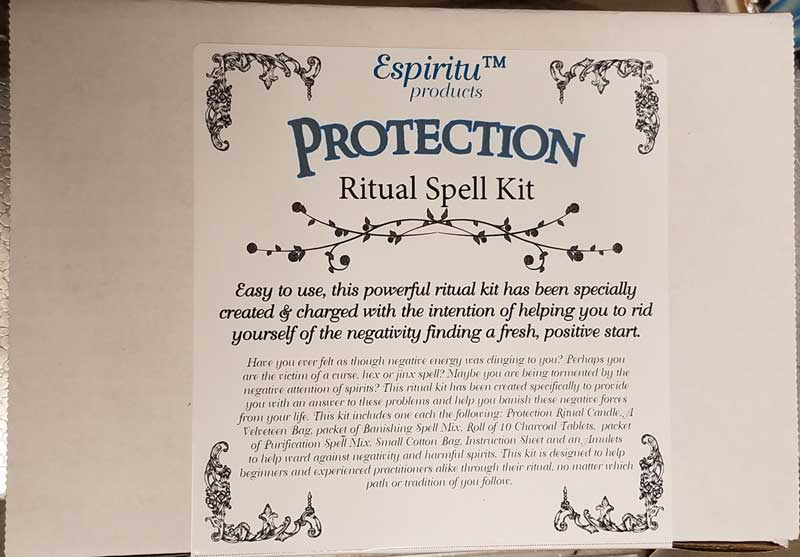 Ritual Spell Kits (21 Types)