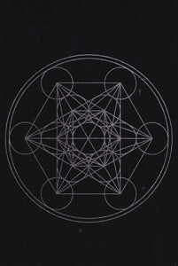 Sacred Geometry Crystal Grid Altar Cloth (5 Types)