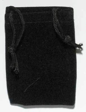 Small Velveteen Drawstring Pouches (8 Colors)