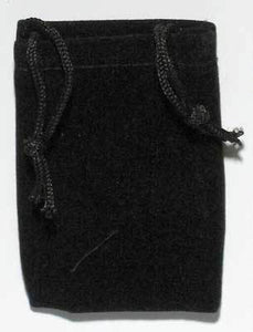 Medium Velveteen Drawstring Pouches (8 Colors)