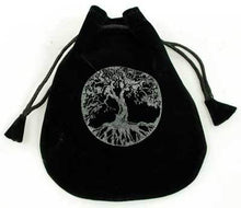 Load image into Gallery viewer, Black Velveteen Drawstring Pouches (9 Types)