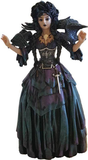 The Morrigan Color Altar Statue 8""