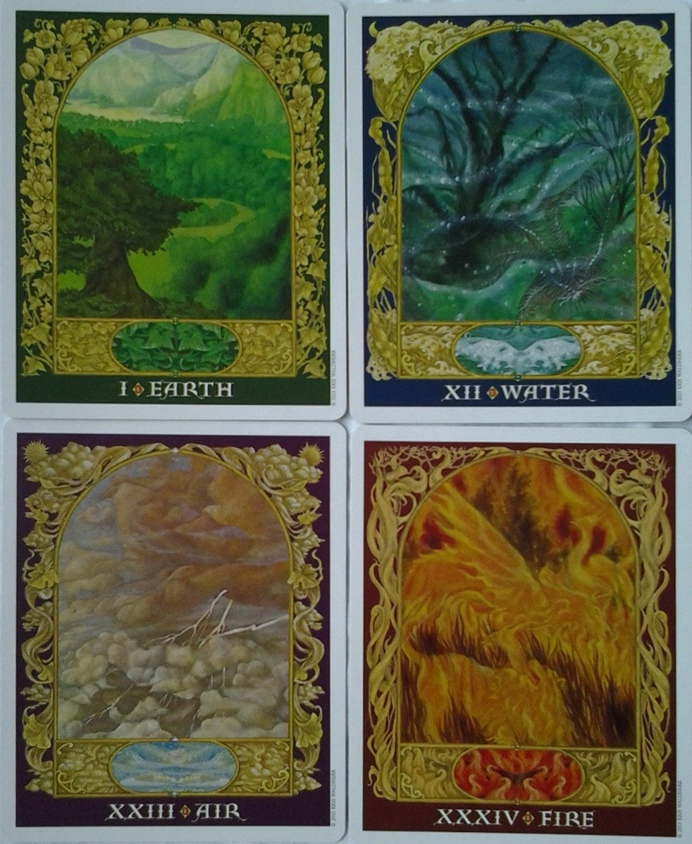 The Sacred World Oracle Cards Deck (Kris Waldherr)