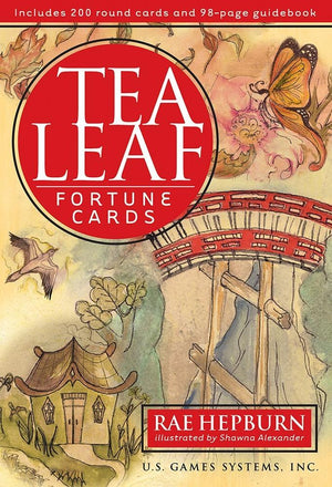 Tea Leaf Fortune Cards Deck & Book (Rae Hepburn)