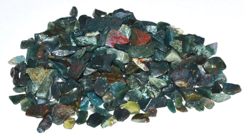 Bloodstone Tumbled Crystal Chips (1lb)
