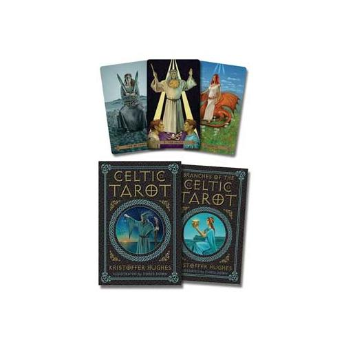 Celtic Tarot Deck & Book (Kristoffer Hughes & Chris Down)