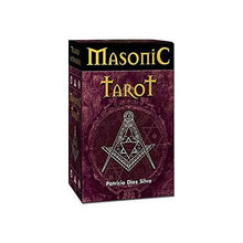 Load image into Gallery viewer, Masonic Tarot Deck (Patricio Diaz Silva)