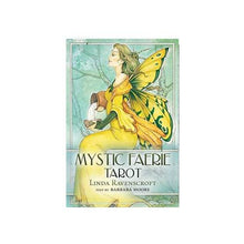 Load image into Gallery viewer, Mystic Faerie Tarot Kit (Barbara Moore & Linda Ravenscroft)