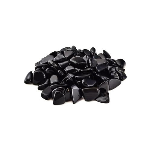 Black Obsidian Tumbled Crystals (1lb)